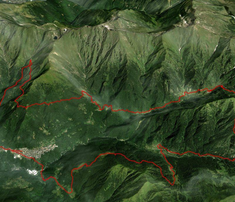mappa 2 - distanza intermedia